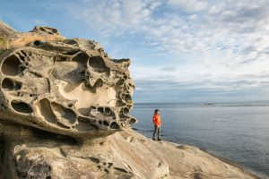 East Point, Gulf Islands National Reserve. Photo credit: Parks Canada